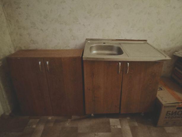 Раковина с двумя шкафами от гарнитура