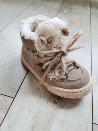 Детски кожени боти/ботуши Зара/Zara