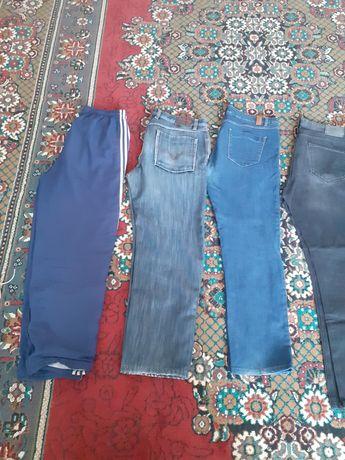 Мужские джинсы, брюки и спорт.штаны.