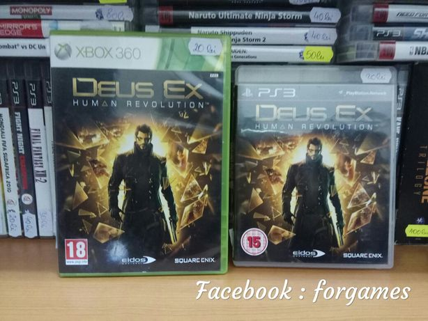 Vindem jocuri : Deus Ex Human Revolution Xbox 360 Xbox One PS3