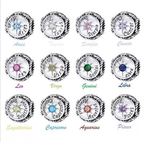Talismane zodiac din argint