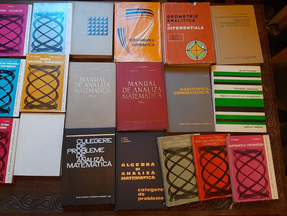 Colecție de 70 de cărți de matematică Bucuresti - imagine 1
