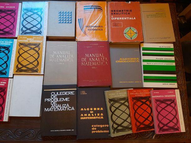 Colecție de 70 de cărți de matematică
