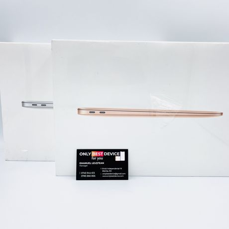 Laptop Apple Macbook Air M1 / Gold si Silver / 256 GB NOU
