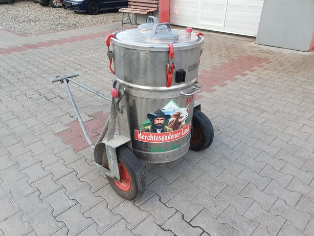 Rezervor de transport lapte 160 litri