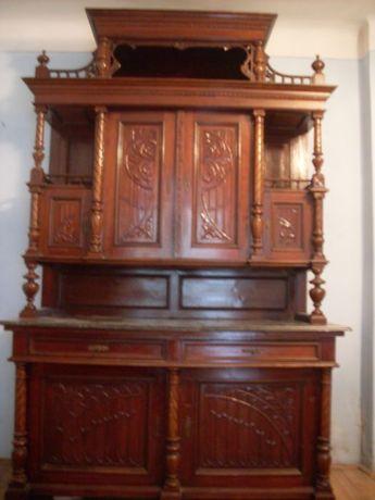 Mobila veche, lemn masiv, stil CREDENT ALTDEUTSCHE perioada 1800-1890