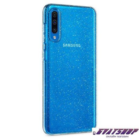 Силиконов Гръб за SAMSUNG A71 GLITTER Ultra Slim
