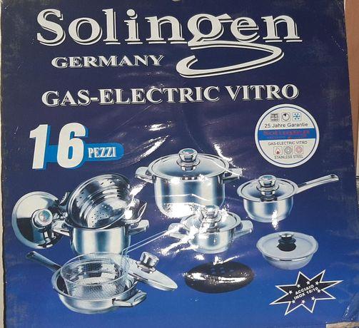 Solingen кухонный набор кастрюлей из 16 предметов