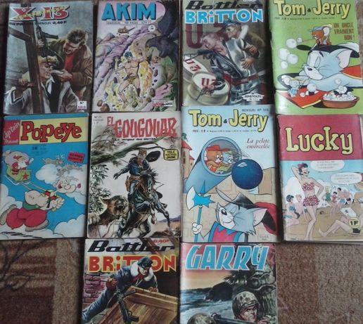 Lucky, Popeye стари комикси