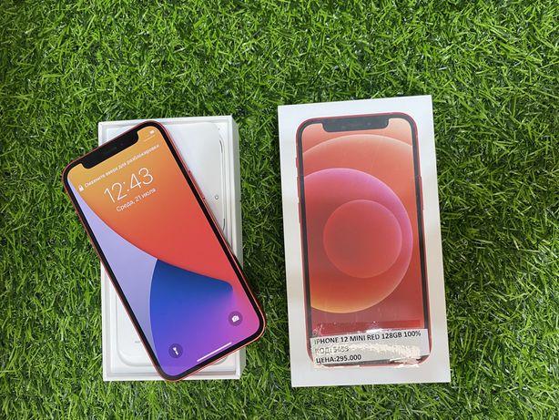 Iphone 12. Mini. Red. 128gb. 100%