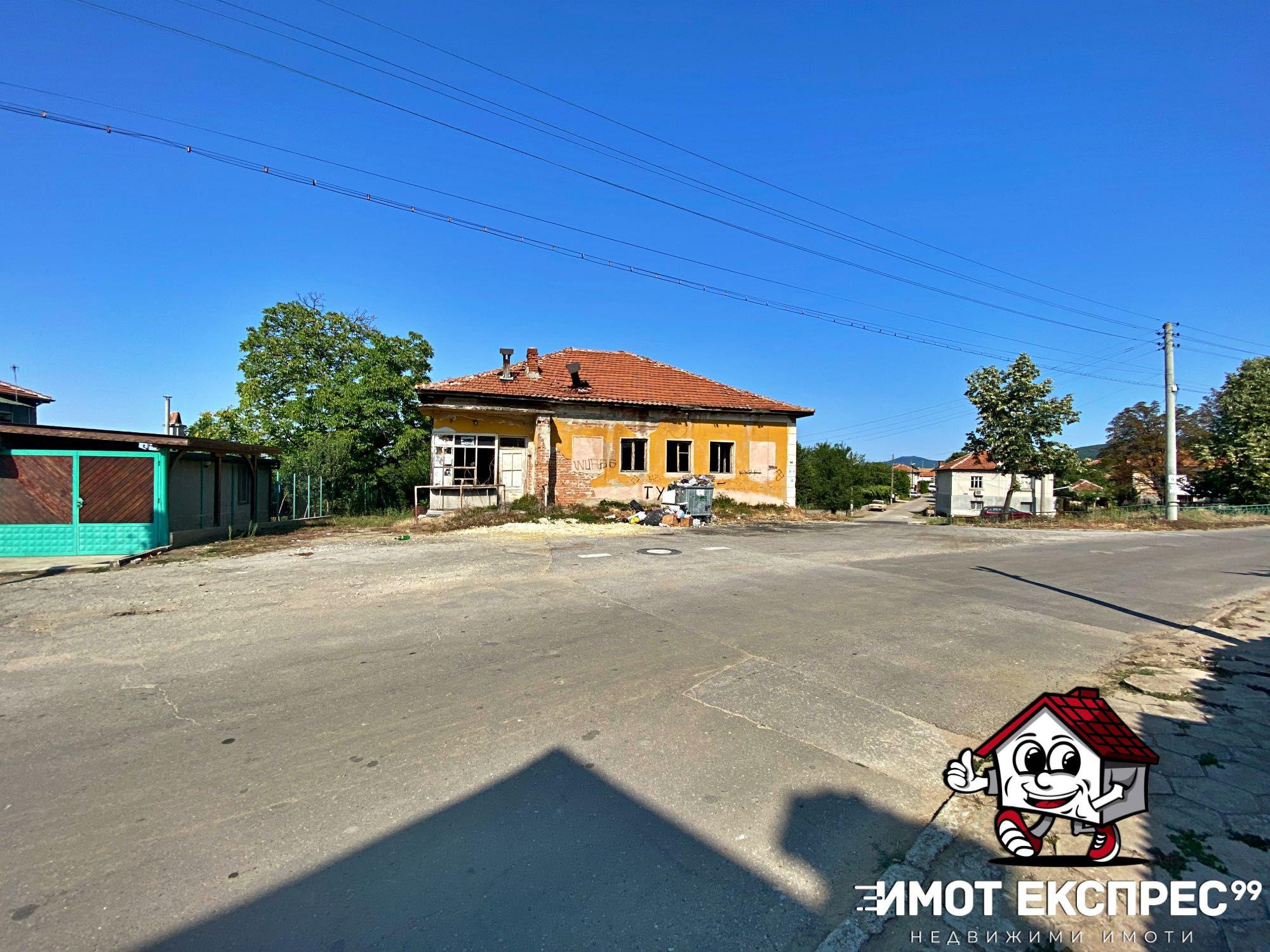 Масивна промишлена сграда 184кв.м, център с.Новаково