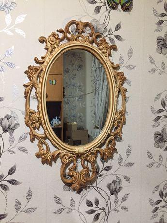Продам зеркало в резном обрамлении