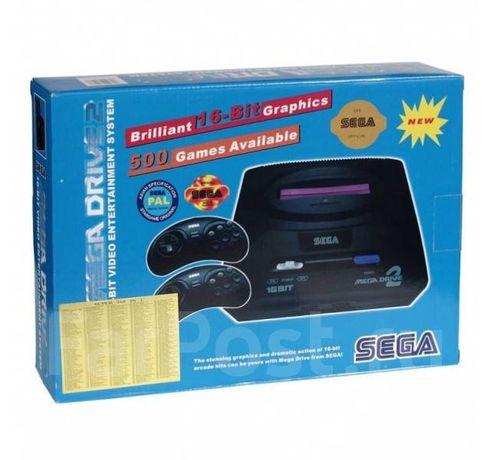 Игровая ТВ-приставка SEGA MEGA DRIVE II, 368 встроенных игр.