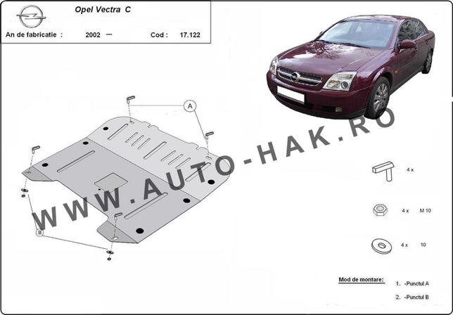Scut motor metalic Opel Vectra C 2002-prezent
