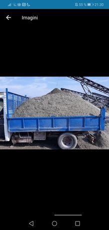 Transport moloz, nisip, balast