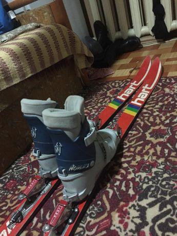 Горные детские лыжи