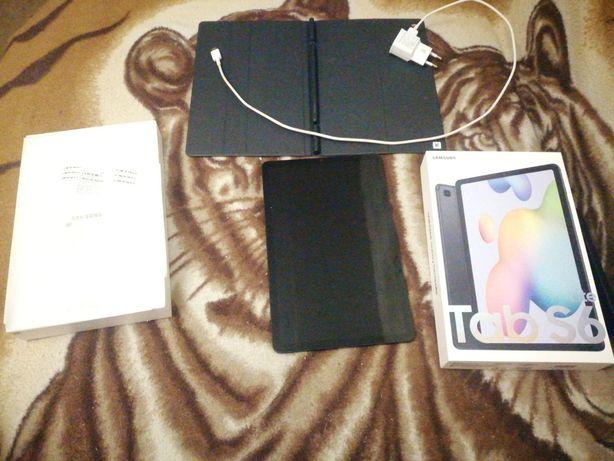 Продам планшет Samsung galaxy tab s6 lite (с чехлом)