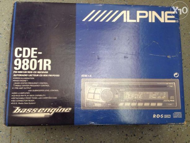 Cd player Apline CDE9801R 200 ron
