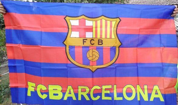 Голямо знаме на Барселона с размер 90/150см.