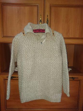 Bluză (pulover) groasă (lână) pentru bărbați