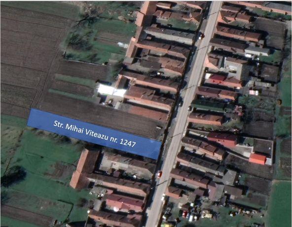 Vand teren intravilan 1300mp, Prejmer, str Mihai Viteazu, nr 1247