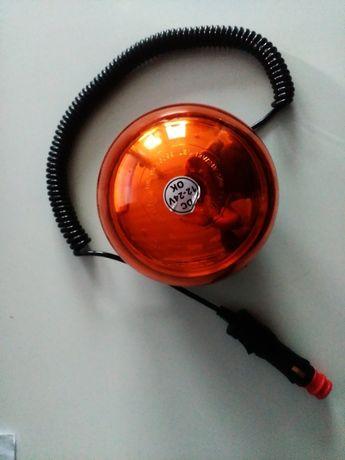 Girofar rotund cu LED-uri 12-24V