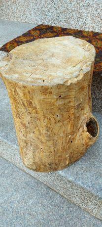 Buturuga decor din lemn