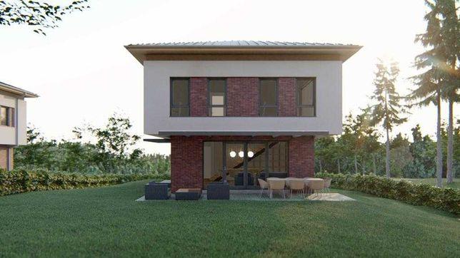 Casa la rosu in FAGET cu teren de 1.334 mp