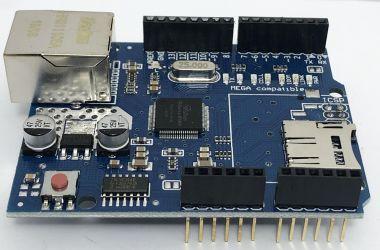 Modul, Shield Ethernet cu chip Wiznet W5100, pentru Arduino UNO R3