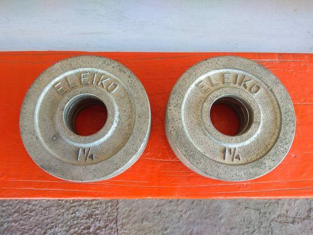 Диски для штанги Eleiko по 1,250 кг