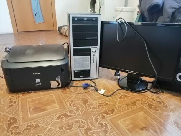 компьютер монитор принтер