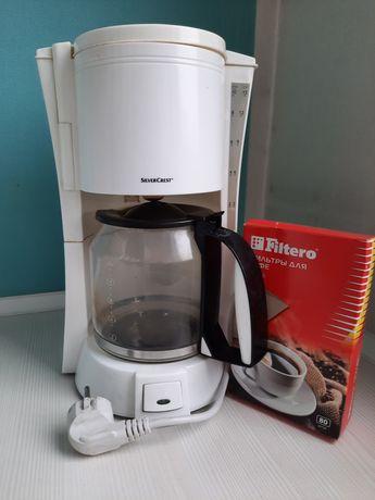 Кофеварка Silver Crest + подарок