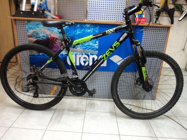 """Не новый казахстанский горный велосипед ZEVS, м-ль ALGA, рама 17"""""""