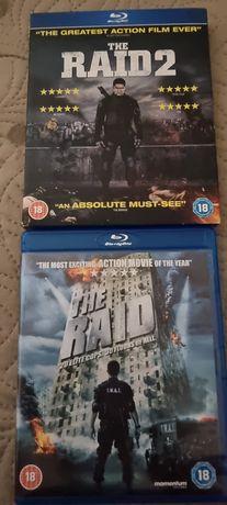 The Raid / The Raid 2 Blu ray