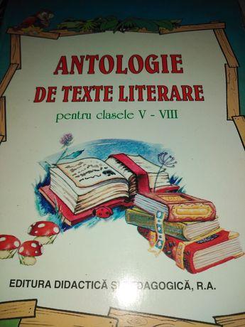 Vand antologie de texte literare