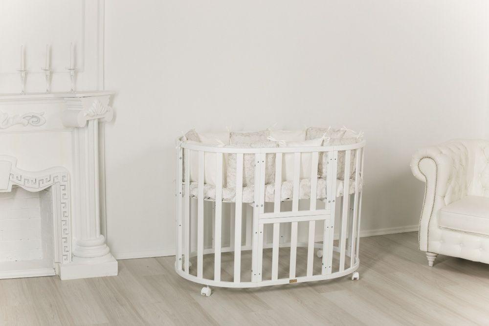 Детские кроватки 9 в 1 Incanto Северная звезда (круглые, овальные) Нур-Султан (Астана) - изображение 1