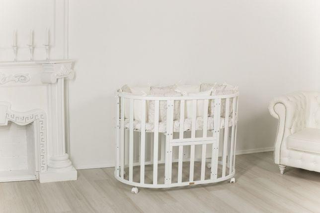Детские кроватки 9 в 1 Incanto Северная звезда (круглые, овальные)