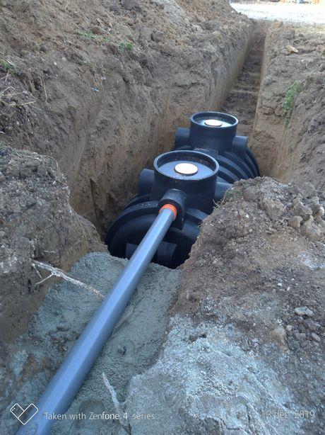 Fose septice bunker