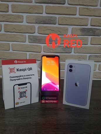 Смартфон Apple IPhone 11 Purple 4/128 Рассрочка KASPI RED! Гарантия!