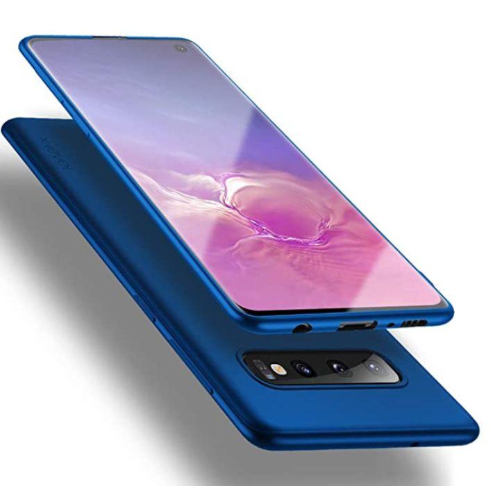 Husa Ultra Slim Samsung S10 Luxury Elegance Albastru