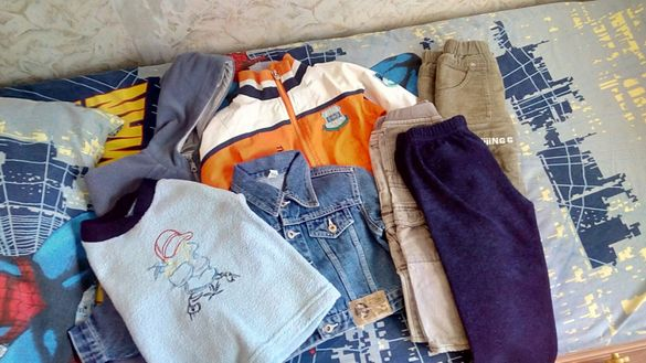 Лот от детски дрехи