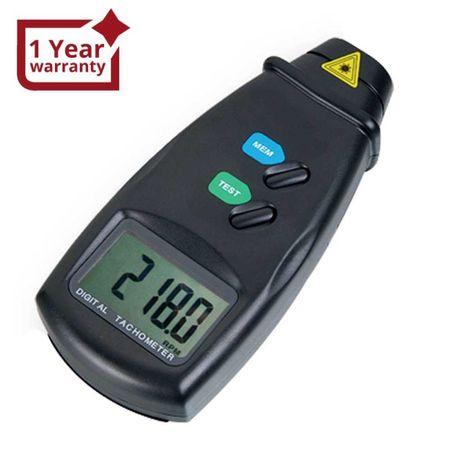 DM-6234P Цифров лазерен без контактен фото-тахометър RPM