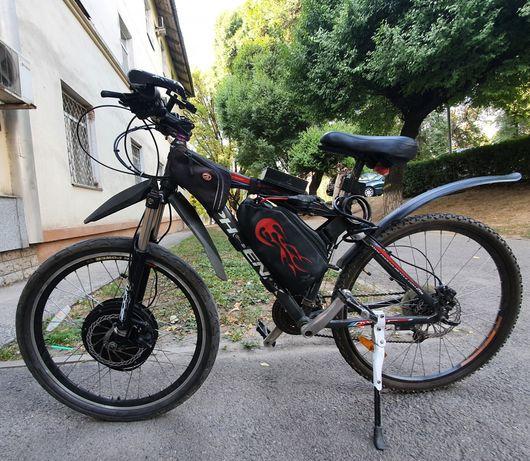 Электровелосипед электро мотор мопед скутер обмен