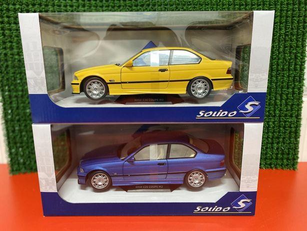 SOLIDO BMW E36 M3 COUPE machetă de colecție scara 1:18