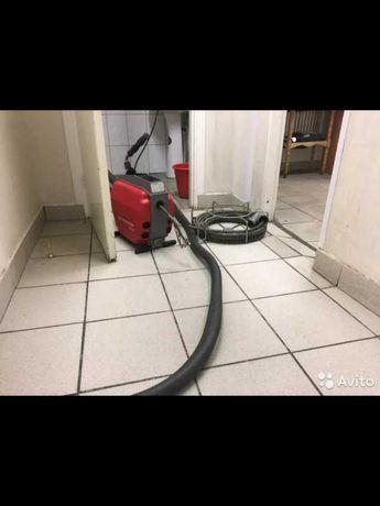 Прочистка канализации, прочистка труб, чистка труб, чистка унитаза