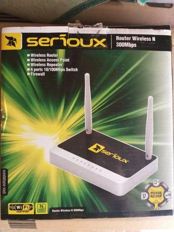 Vand ruter wireless serioux SRX - WR300WH