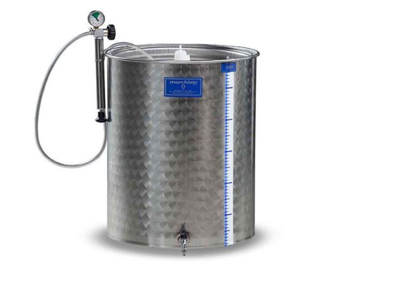 Cisternă inox fermentare Asconi 300 litri, Transport în Toată Țara! Pitesti - imagine 1