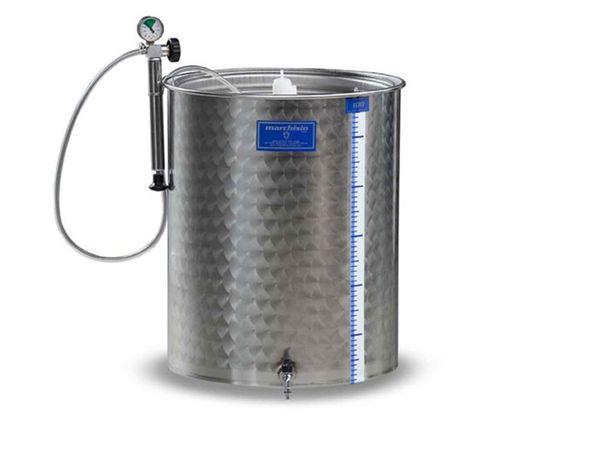 Cisternă inox fermentare Asconi 300 litri, Transport în Toată Țara!
