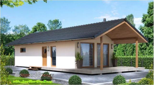 Kit casă lemn 66 mp