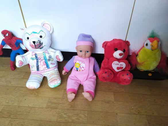 Плюшени играчки за малки и големи Мече обичам те!